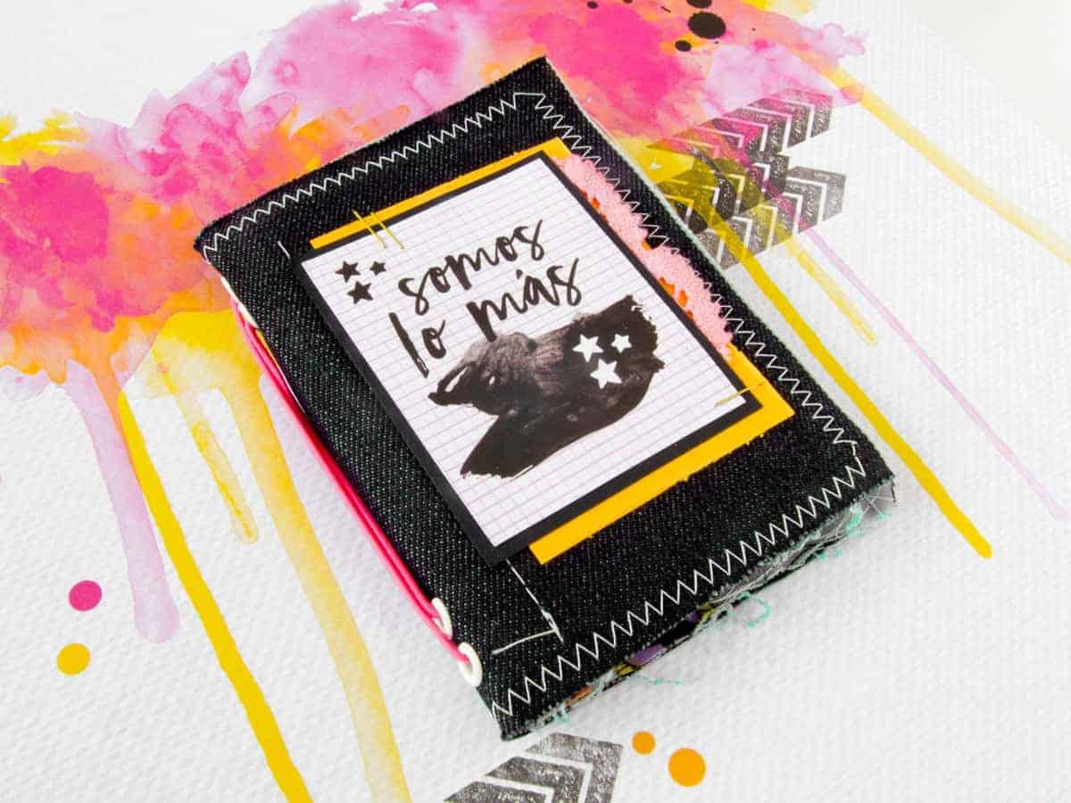 Pequeño midori con el texto Somos lo Más de las tarjetas de la colección de papeles #MilkMedia de Paperinky