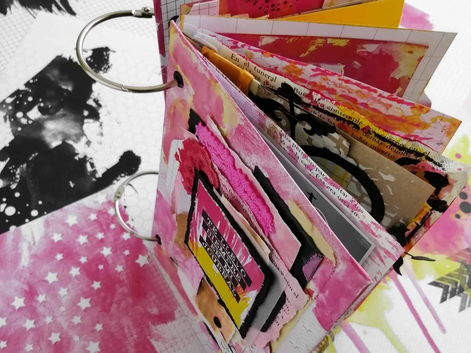 Estructura del álbum para el taller en Castellbell i el Vilar - Barcelona