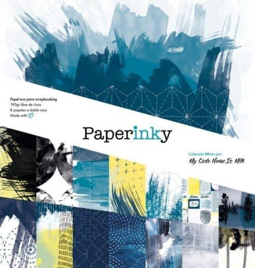 Paperinky libreta de Scrapbook 02 Boro de 30x30 para scrapbooking y manualidades