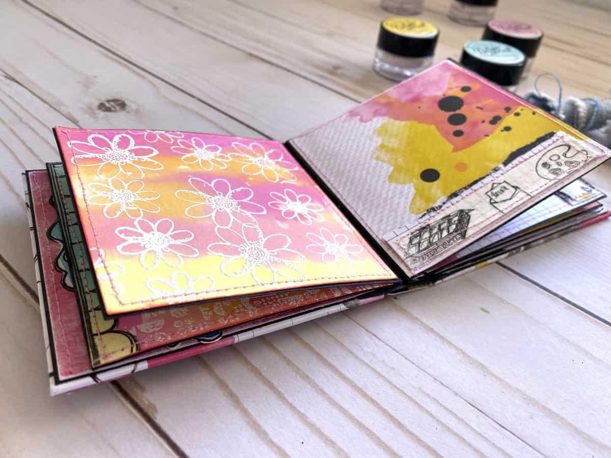 Paperinky Álbum Vero pigmenos y sellos si no mancha