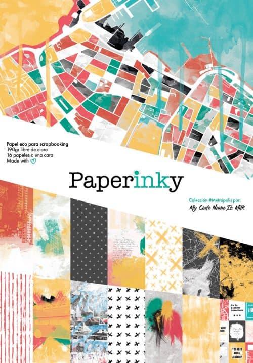 Paperinky Metropolis Libreta 15x20 Portada