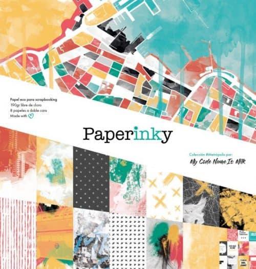 Paperinky Metropolis Libreta Portada
