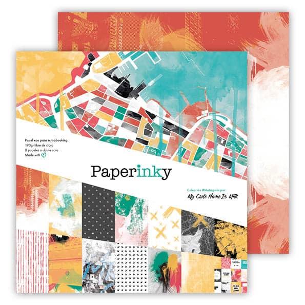 Paperinky Scrapbook Metrópolis L 01 - 1 [595x595a72]