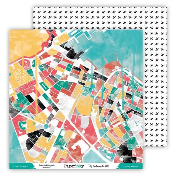 Paperinky Scrapbook Metrópolis L 01 - 6 [595x595a72]