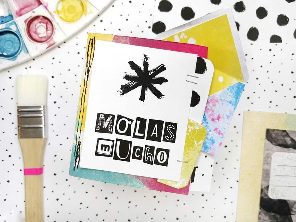 Artefacto Digital Ideas con sobres - para decorar álbumes
